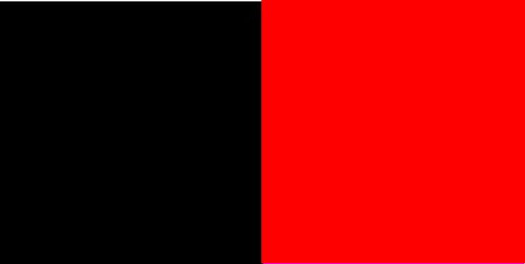 Zwart / Rood