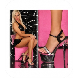 Zwarte Open High Heels