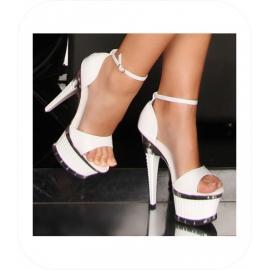 Witte High Heels