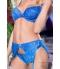 Sexy Blauw Lingerie Set