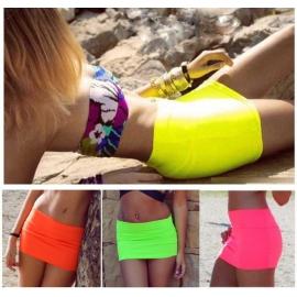 Fluo Mini rok in 3 kleuren