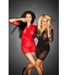 "Immoral - Black or Red  Mini Dress ""Flirty"""