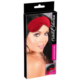 Blindfold Set pack of 2 red/black