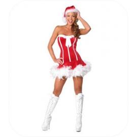 "Fluweel Christmas Mini Jurk ""Shyla"""