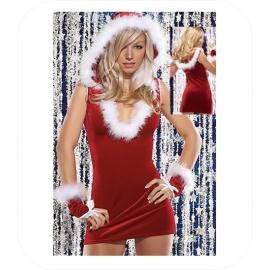 "Christmas Mini Jurk ""Anela"""