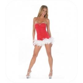 """Christmas Mini Jurk """"Aline"""""""