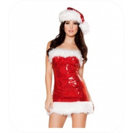 "Christmas Mini Jurk ""Holly"""