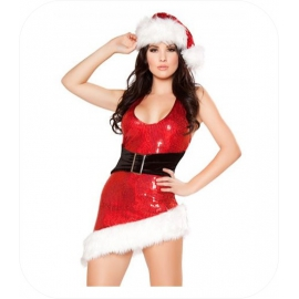 "Christmas Mini Jurk ""Tashia"""