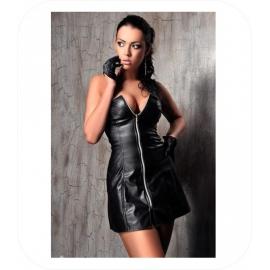 Zwart Bustier Mini Dress