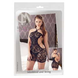 Net Mini Dress