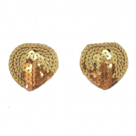 Goud Nipple Covers Hart