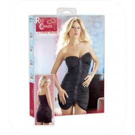 25. Zwart Mini Dress met rits