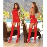 "Bodystocking ""Dress""  Rood"