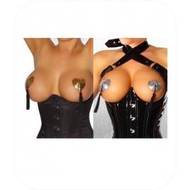 Nipple Covers Hart Goud