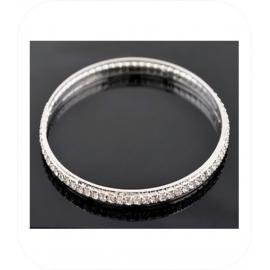 Armband van Strass - 1 rij