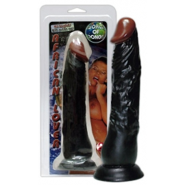 "Realistic Dildo ""European Lover"", 23 cm, with suction cup, flexible"