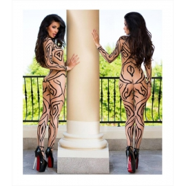 Black and Nude Bodystockings