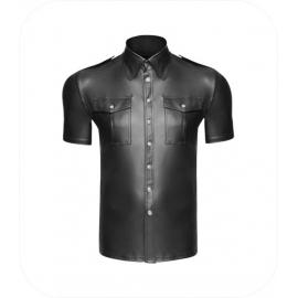 """Noir Handmade Shirt """"Snap"""""""