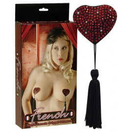 Heart-shaped Nipple Decoration