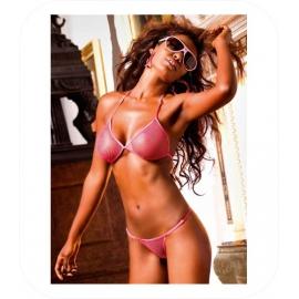 Roze Net Bikini