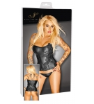 "Exclusive - Wetlook Corset ""Noir"""