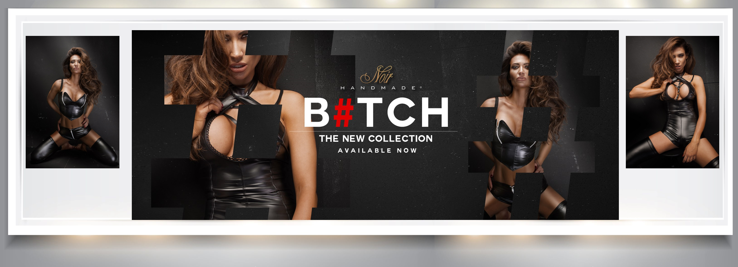 "Noir Handmade New Collection ""Bitch"""